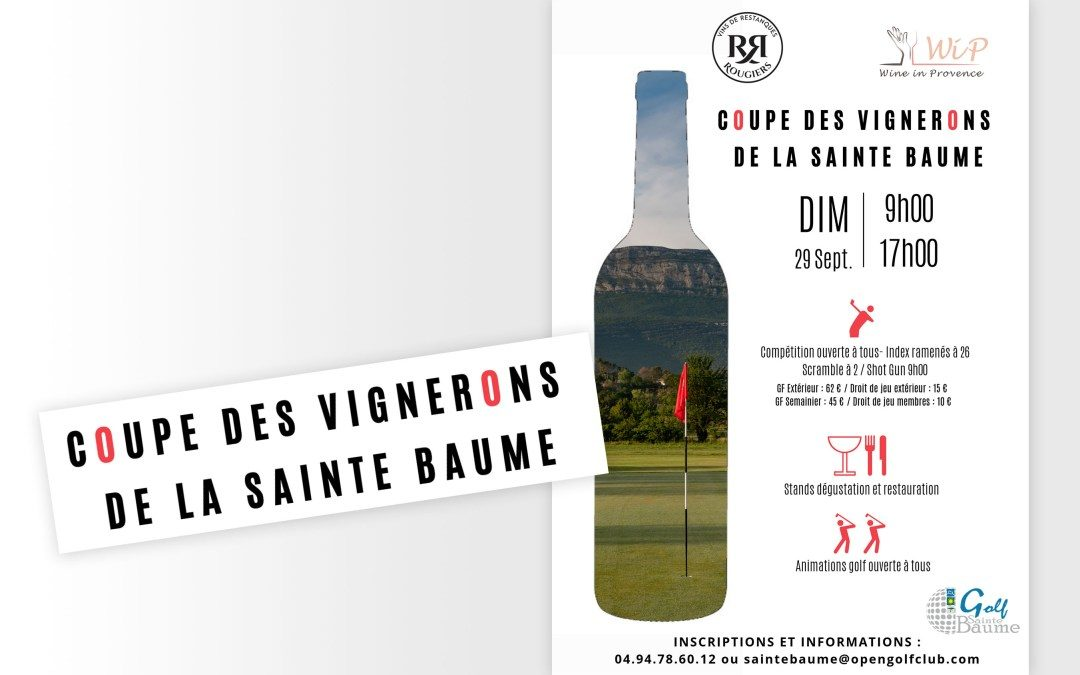 Golf Open of the Winegrowers of Sainte Baumes