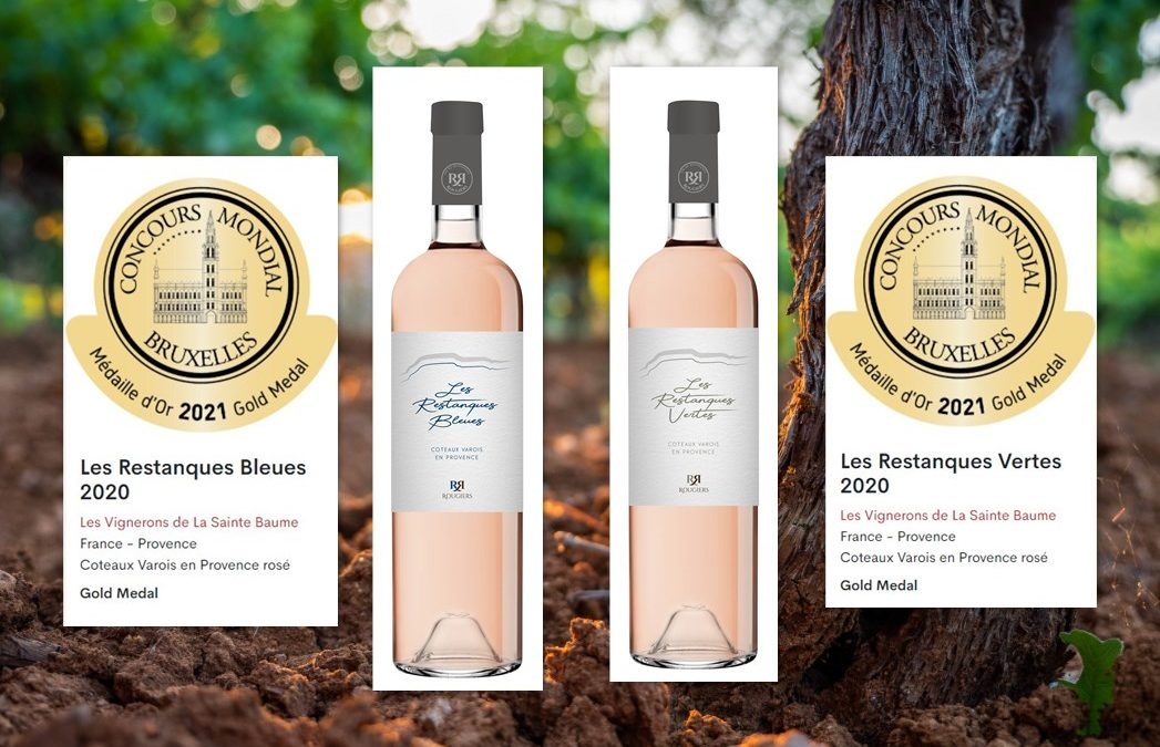 69th and 70th Medals for the winemakers of the Sainte Baume !!!